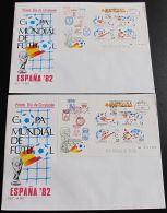 SPANIEN 1982 MI-NR. Block 25 + 26 FDC - FDC