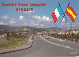 G , Cp , DOUANE , HENDAYE , Frontière Franco-Espagnole - Douane