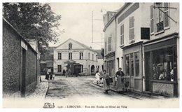 91 - LIMOURS -- Rue Des Ecoles Et Hôtel De Ville - Limours