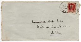 - FRANCE - Lettre LILLE 2.5.1944 - 1 F. 50 Brun Type Pétain - A ETUDIER - - 1941-42 Pétain