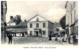 91 - LIMOURS -- Place De La Mairie - Rue Des Ecoles - Limours