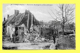 CPA 80 CORBIE (ar. Amiens) Rue De La Boulangerie Et Porte Hérouart (animée) N°44 - Corbie