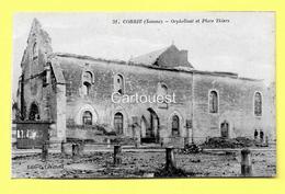 CPA 80 CORBIE (ar. Amiens)  Orphelinat (animée) N°38 - Corbie