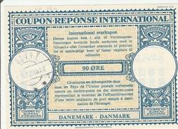 Coupon-reponse Danemark Danmark 90 Ore 1962  - Type Lo 16n -  IRC CRI IAS - Enteros Postales