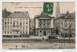CPA   NANTES  L'Hôtel Des Postes  Quai Brancas    Cachet Convoyeur    Y5/2528 - Nantes