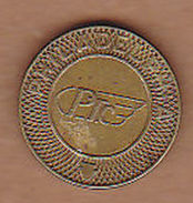 AC -  PHILADELPHIA PTC GOOD FOR ONE FARE  TOKEN - JETON - Monetary/Of Necessity