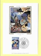 Sandra Jayat, Les Gens Du Voyages - Paris - 5.12.1992 - TABLEAUX Et Timbre Gens Du Voyage - Europe