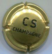 CJ-CAPSULE-CHAMPAGNE COMTE DE SENNEVAL Or & Noir-NR
