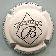 CJ-CAPSULE-CHAMPAGNE BAUSER René N°26e Crème-rosé & Noir - Champagnerdeckel