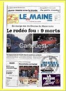 CPM Numérotée : 000935 -  1992 : 24 HEURES Du MANS MOTO Se Terminent Dans Le Sang 9 Morts  ( Timbre Presse Ma LIBERTE ) - Sport Moto