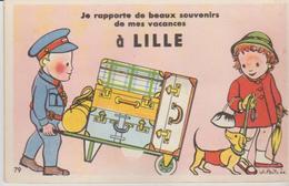 """59 ( Lille  """" Je Rapporte De Beaux Souvenir De... """"  ) - Mechanical"""