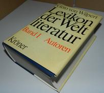 Lexikon Der Weltliteratur Band 1 Autoren 1793 Seiten, 1,9 Kg 1975 (+) - Bücher, Zeitschriften, Comics