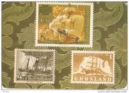 CALENDARIO DEL AÑO 1978 CON UNOS SELLOS DE BARCOS - SHIP (STAMP) (CALENDRIER-CALENDAR) - Calendarios