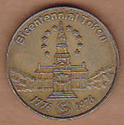 AC -  PENNSYLVANIA TRANSPORTATION BICENTENNIAL TOKEN 1776 - 1976  SEPTA ONE FARE  TOKEN - JETON - Monetary/Of Necessity
