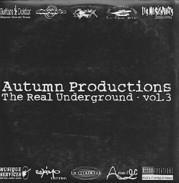 AUTUMN PRODUCTIONS  - The REAL UNDERGROUND Vol. 3 - CD - METAL - PUNISH YOURSELF - SIDILARSEN - Hard Rock & Metal