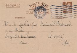 BOULOGNE BILLANCOURT  - 1941 , Carte Interzone  -  Iris - 1939-44 Iris