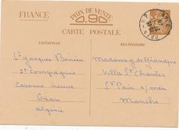 ORAN  / Algerie   - 1940 , Carte Interzone  -  Iris - 1939-44 Iris