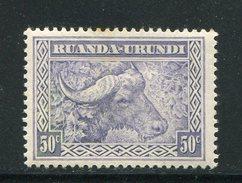 RUANDA-URUNDI- Y&T N°96- Neuf Avec Charnière * - Ruanda-Urundi