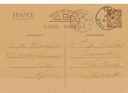 ORAN  / Algerie   - 1941 , Carte Interzone  -  Iris - 1939-44 Iris
