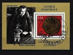 DDR - Block Nr. 68 - 100. Geburtstag Von Georgi M. Dimitrow Ersttags-gestempelt - [6] República Democrática
