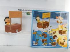 MONDOSORPRESA (SC 86) KINDER FERRERO MAXI, THE PEANUTS MOVIE, LUCY, FSB14 + CARTINA - Maxi (Kinder-)