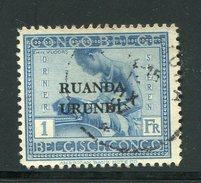 RUANDA-URUNDI- Y&T N°71- Oblitéré - Ruanda-Urundi