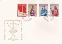 Liechtenstein FDC 1966 Pfarrkirche St.Florin (T4-22)