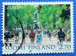 FINLAND SUOMI 2,70 MAR.1999 EUROPA CEPT CITY MONUMENTS TREES AND FOREST Mic: 1474 - USED - Finland