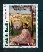 "France 2017 - Frédéric Bazille, Impressionnisme, ""Vue De Village"" / Impressionism, ""View Over The Village"" - MNH - Impressionismus"