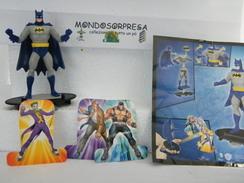 (SC 86) KINDER FERRERO MAXI, BATMAN FFZ4  - FFZ 4 + CARTINA - Maxi (Kinder-)