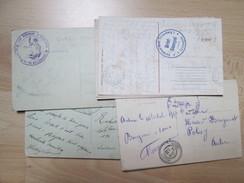 15 CARTES POSTALES  AVEC CACHETS MILITAIRE - Cartes Postales