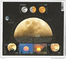 Belg. 2016 - COB N° Bloc 245 ** - Super Lune (timbres 4647 à 4651) - Belgium