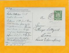 1927 - CP Vers Loose, Allemagne - Ligne Maritime Hamburg Sudamerikanische - Paquebot Cap Polonio - Briefe U. Dokumente