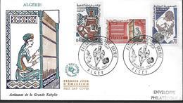 1966 ALGERIE PREMIER JOUR  ARTISANT DE LA GRANDE KABYLIE - Algeria (1962-...)