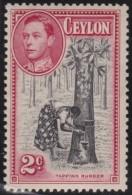 Ceylon   .       SG     .    386a    P  13 1/2  X  13       .        *    .     Ongebruikt   .    /    .   Mint-hinged - Ceylon (...-1947)