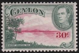 Ceylon   .       SG     .    393      .        *    .     Ongebruikt   .    /    .   Mint-hinged - Ceylon (...-1947)