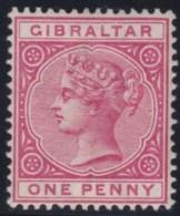 Gibraltar    .       SG     .     9         .        *    .     Ongebruikt   .    /    .   Mint-hinged - Gibraltar