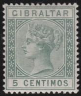 Gibraltar    .       SG     .    22     .        *    .     Ongebruikt   .    /    .   Mint-hinged - Gibraltar
