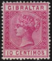 Gibraltar    .       SG     .    23    .        *    .     Ongebruikt   .    /    .   Mint-hinged - Gibraltar