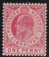 Gibraltar    .       SG     .    67     .        *    .     Ongebruikt   .    /    .   Mint-hinged - Gibraltar