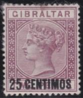 Gibraltar   .       SG     .     17ab    Small I      .        O    .     Gebruikt   .    /    .    Cancelled - Gibraltar