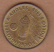 AC -  BORMAN LOVELL AND ANDERS APOLLO 8 1968 SHELL  TOKEN - JETON - Monetary /of Necessity