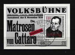 DDR - Block Nr. 96 - 100. Geburtstag Von Friedrich Wolf Ersttags-gestempelt - Bloques
