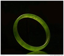 CINA (China): Fine Chinese Green Nephrite Jade Ring - Art Oriental