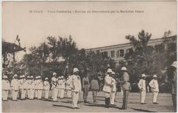 SAINT LOUIS (SENEGAL) - PLACE FAIDHERBE - REMISE DE DECORATIONS PAR LE MARECHAL PETAIN - Senegal
