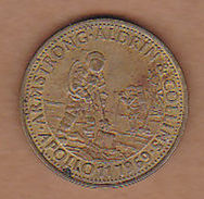 AC -  ARMSTRONG  ALDRIN  AND COLLINS APOLLO 11 1969 SHELL  TOKEN - JETON - Monetary /of Necessity