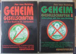 Jan Van Helsing - Geheimgesellschaften 1 + 2, Ewert Verlag 1995 / Verschwörungstheorien - Altri