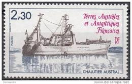 TAAF 1982 Yvert 100 Neuf ** Cote (2015) 1.90 Euro Chalutier Austral - Terres Australes Et Antarctiques Françaises (TAAF)