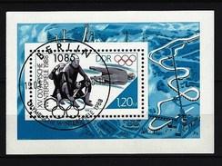 DDR - Block Nr. 90 - Olympische Winterspiele Calgary Ersttags-gestempelt - Blocs