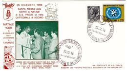 Busta Kim Cover: Santa Messa Di SS PAOLO VI A Taranto 1968 - 6. 1946-.. República